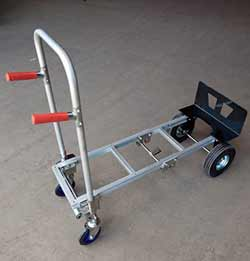 aluminum convertible cart