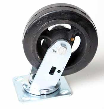 """New Rubber Casters 6"""""""