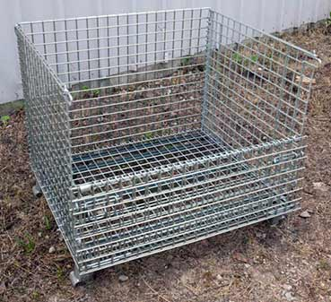 collapsible wire baskets