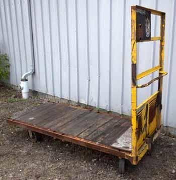 dock cart 36x84